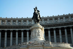 Vittorio Emanuel Monument Rome Royalty Free Stock Images