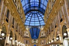 Vittorio Emanuele ΙΙ στοά Μιλάνο, Ιταλία Στοκ εικόνα με δικαίωμα ελεύθερης χρήσης