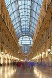 Vittorio Emanuele που ψωνίζει arcade, Μιλάνο Στοκ Φωτογραφίες