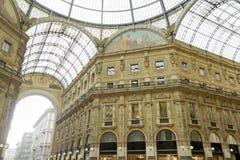 Vittorio Emanuele που ψωνίζει arcade, Μιλάνο Στοκ φωτογραφίες με δικαίωμα ελεύθερης χρήσης