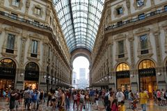 Vittorio Emanuele fotografia stock