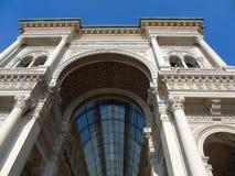 Vittorio Emanuele de Galleria à Milan Images stock