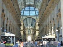 Vittorio Emanuele de Galleria à Milan Photos libres de droits