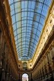 Vittorio Emanuele do Galleria em Milão Foto de Stock