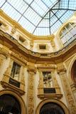 Vittorio Emanuele do Galleria em Milão Imagem de Stock