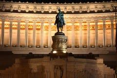 Vittorio Emanuele em Roma, Italy Fotos de Stock