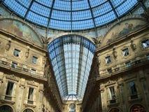 Vittorio Emanuele Galerie Lizenzfreies Stockfoto