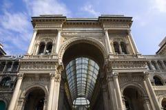 Vittorio Emanuele Gallery Stock Image