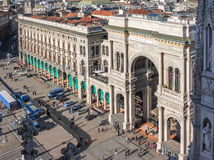 The Vittorio Emanuele gallery Royalty Free Stock Photography