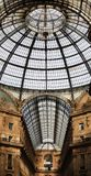 Vittorio Emanuele gallery, Milan Royalty Free Stock Photo