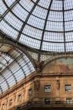 Vittorio Emanuele gallery, Milan Royalty Free Stock Images