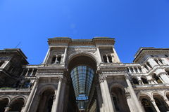 Vittorio Emanuele gallery, Milan Royalty Free Stock Image