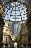 Vittorio Emanuele Gallery of Milan Royalty Free Stock Images