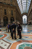 Vittorio Emanuele gallery, Milan, Italy Royalty Free Stock Images
