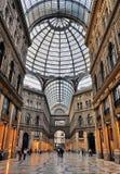 Vittorio Emanuele II画廊 免版税库存照片