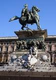Vittorio Emanuele II Fotografia Stock