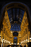 Vittorio Emanuele II Galerie Mailand, Italien lizenzfreie stockfotos