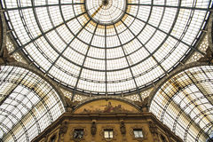 Vittorio Emanuele II galerij, Milaan, Italië Royalty-vrije Stock Fotografie