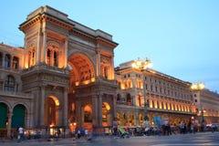 Vittorio Emanuele II gallery Royalty Free Stock Image