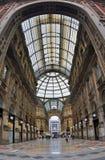 Vittorio Emanuele II Gallery Stock Images