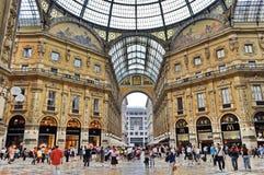 Vittorio Emanuele II Gallery Royalty Free Stock Photos