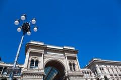 Vittorio Emanuele II Gallery in Milan Royalty Free Stock Image