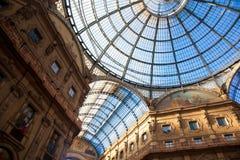 Vittorio Emanuele II Gallery in Milan Royalty Free Stock Photography