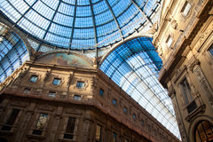 Vittorio Emanuele II Gallery in Milan Royalty Free Stock Images
