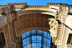 Vittorio Emanuele II Gallery, Milan Stock Photos