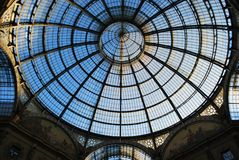 Vittorio Emanuele II Gallery, Milan Stock Photo