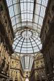 Vittorio Emanuele II gallery in Milan Royalty Free Stock Photos