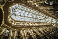 Vittorio Emanuele II Gallery, Milan royalty free stock photo