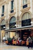 Vittorio Emanuele II Gallery in Milan Royalty Free Stock Photo