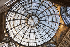 Vittorio Emanuele II gallery, Milan Royalty Free Stock Image