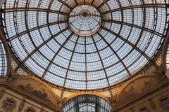 Vittorio Emanuele II gallery, Milan Royalty Free Stock Photography