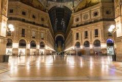 Vittorio Emanuele II Gallery in Milan Stock Photo