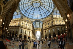 Vittorio Emanuele II Gallery. Milan, Italy Royalty Free Stock Images