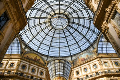 Vittorio Emanuele II Gallery. Milan, Italy Royalty Free Stock Photography