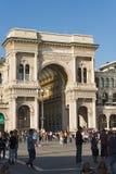 Vittorio Emanuele II Gallery - Milano Italy Stock Photo