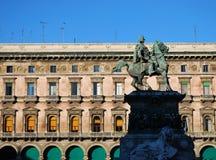 Vittorio Emanuele II monument Royalty Free Stock Photo
