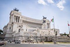 Vittorio Emanuele II monument, Rome, Italy Royalty Free Stock Images