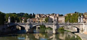 Vittorio Emanuele II most Zdjęcie Stock