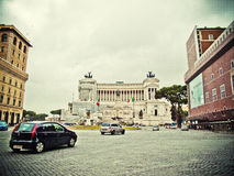 Vittorio Emanuele II plaza Royalty Free Stock Photos
