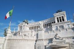 Vittorio Emanuele II in Rome, Italy Stock Images