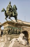 Vittorio Emanuele II Statue Royalty Free Stock Photos
