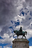 Vittorio Emanuele II statue in Rome Italy Stock Images