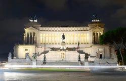 Vittorio Emanuele monument, Rome Stock Image