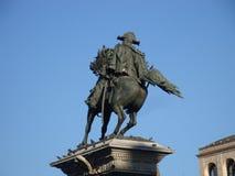 Vittorio Emanuele på fyrkanten royaltyfri foto