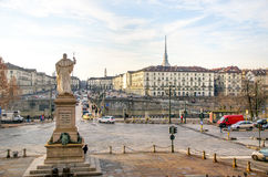 Vittorio Emanuele Piazza Gran Madre Dio Turin piedmont Italy Royalty Free Stock Photos