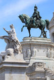 Vittorio Emanuele in Rome, Italy Royalty Free Stock Photography
